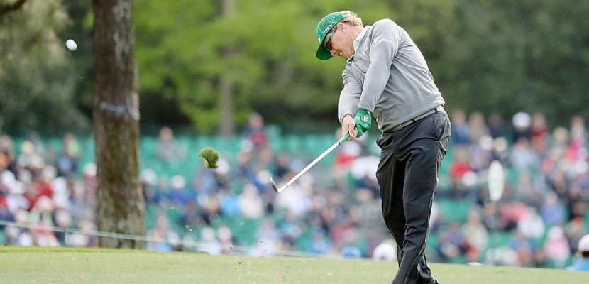 Golf: la surprise Hoffman, le choc Johnson, au 1er tour du Masters