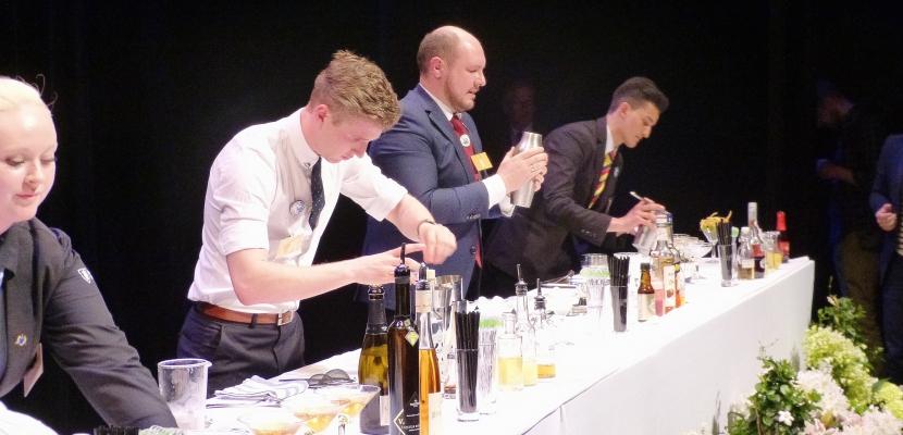 Créativité et originalité pour les trophées internationaux des Calvados dans la Manche