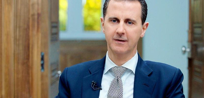 Assad, un autocrate honni par l'Occident, défendu par la Russie