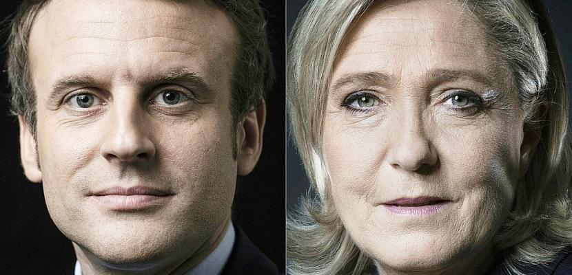 Présidentielle: Macron et Le Pen en duel à Paris avant le sprint final