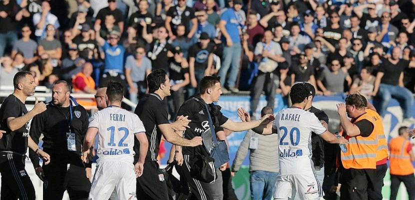 Incidents Bastia-OL: cinq hommes jugés en comparution immédiate