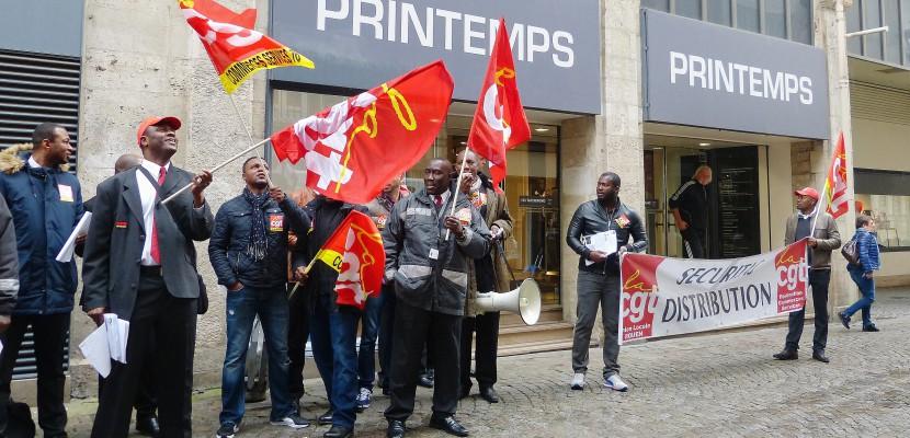 A Rouen, les agents de sécurité dénoncent leurs conditions de travail