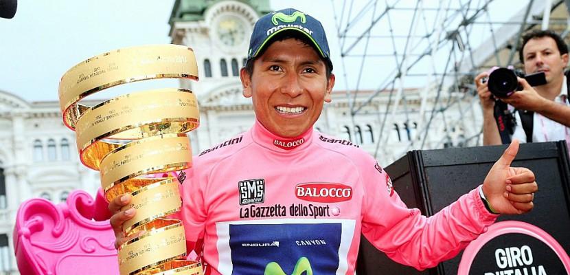 """Tour d'Italie: """"L'amour sans fin"""" pour Quintana, Nibali et... Pinot"""
