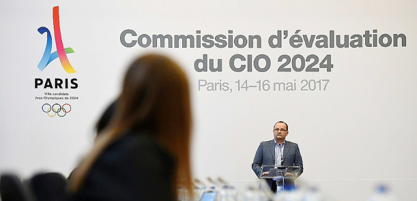 JO-2024: la commission d'évaluation du CIO commence sa visite à Paris