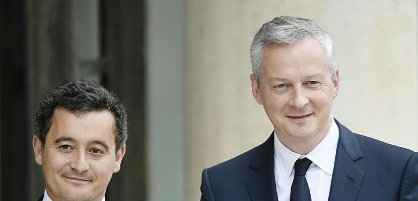 A Bercy, un tandem de droite pour mettre en oeuvre le programme Macron