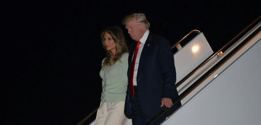Trump rentre à Washington où l'affaire russe touche son premier cercle