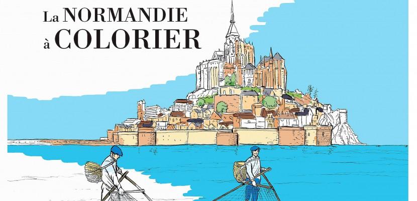 Colorier la Normandie, une activité familiale!