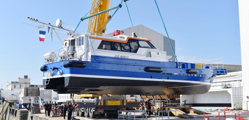 Cherbourg. Chantiers Allais à Cherbourg : un premier bateau mis à l'eau après la reprise par Efinor