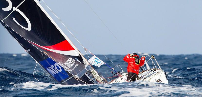 Solitaire du Figaro : une nuit d'enfer sur mer pour les skippers de Normandie