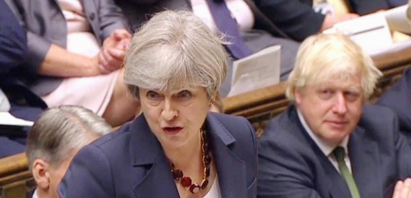 Royaume-Uni: vote de confiance à hauts risques pour le gouvernement May