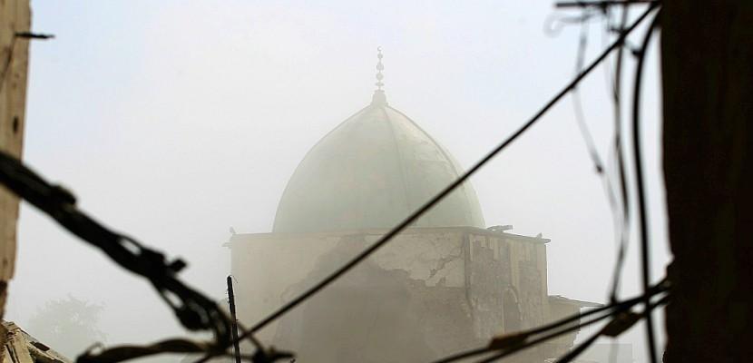 """Avec la prise de la mosquée de Mossoul, l'Irak voit la fin du """"califat"""" de l'EI"""
