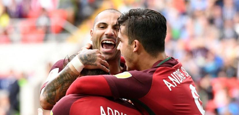 Coupe des Confédérations: un penalty offre le podium au Portugal