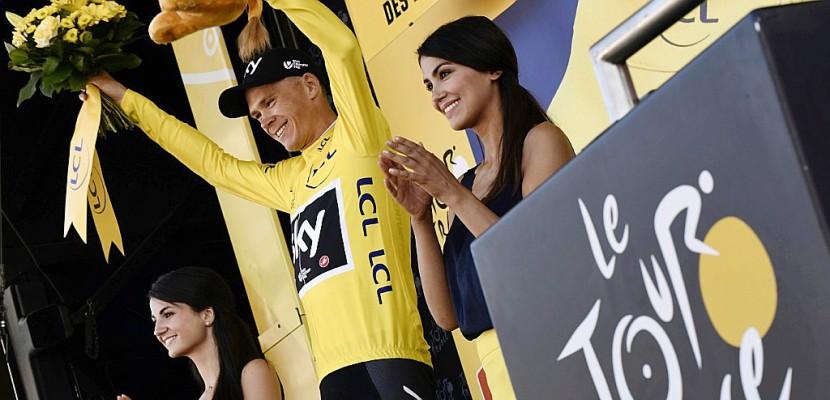Tour de France: Froome aux commandes après la 5e étape, mais Aru est là