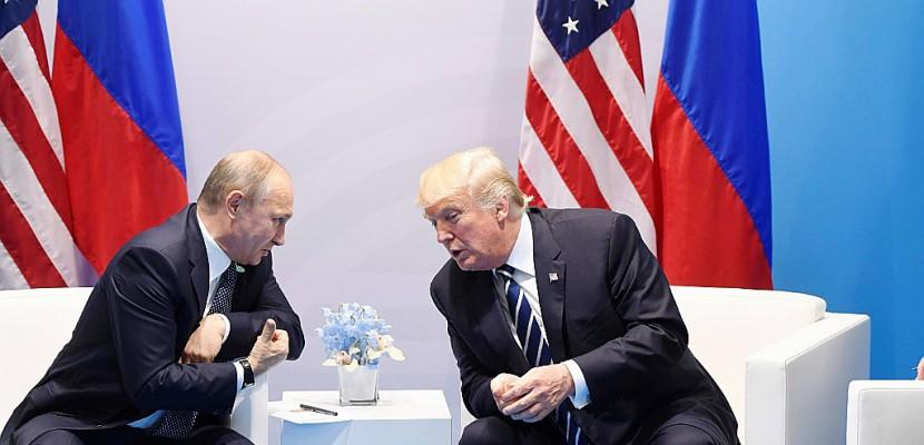 Poutine veut croire en Trump, avec ou sans scandale