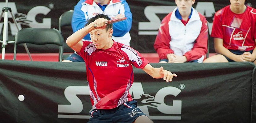 Tennis de table : le Caennais Dorian Zheng médaillé d