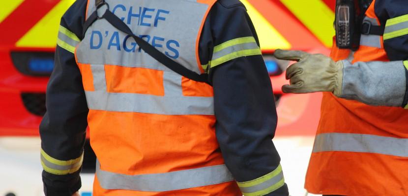 Normandie: une conductrice piégée dans son véhicule après une sortie de route
