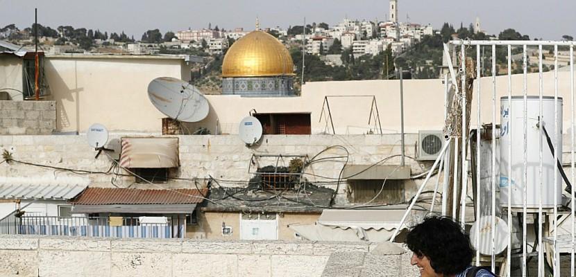 C'est la nuit à Jérusalem, l'heure où rôde la