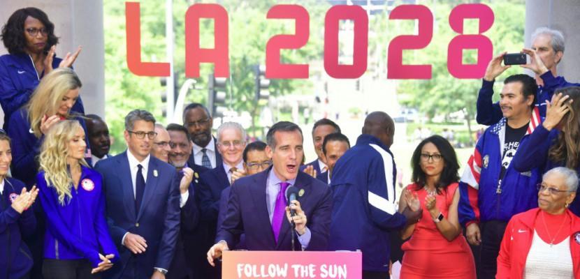 JO: Los Angeles approuve le contrat de ville hôte 2028