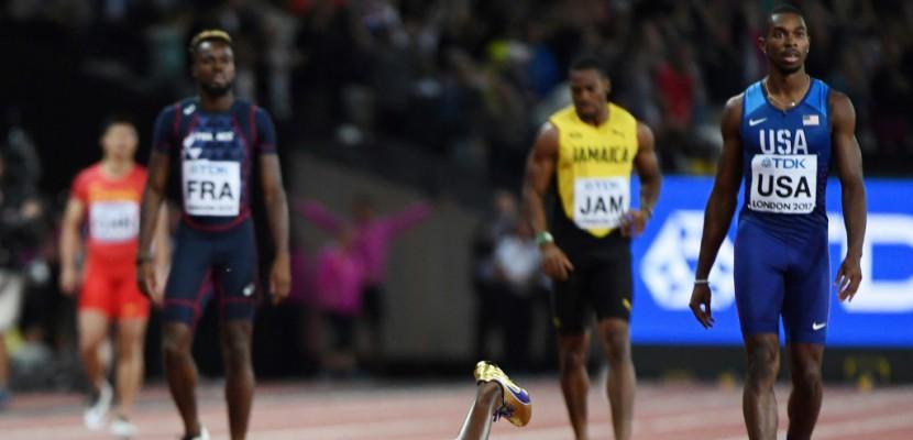 Athlétisme: Bolt foudroyé dans sa dernière ligne droite