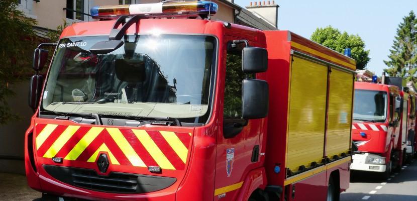 Le Houlme. Seine-Maritime : les combles d'une maison détruites par les flammes