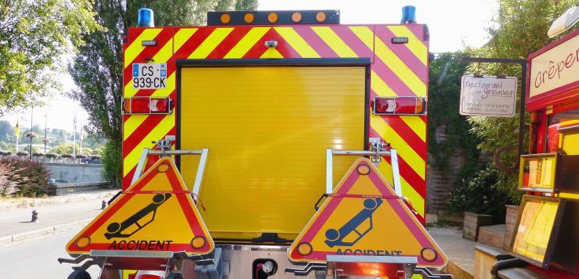 Auvers. Collision frontale dans la Manche : quatre blessés