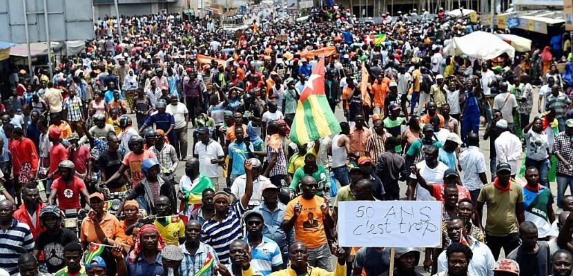 Togo: marée humaine dans les rues de Lomé à l'appel de l'opposition