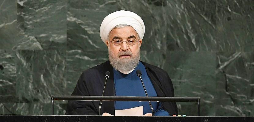 """L'Iran défend à l'ONU l'accord nucléaire face au """"voyou"""" Trump"""