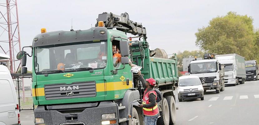 Deuxième jour de mobilisation pour les routiers CGT et FO