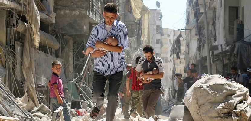 Prix Bayeux : des bébés extirpés des bombardements ont touché les jeunes