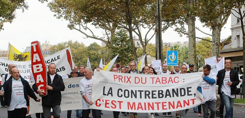 Les buralistes dans la rue contre le paquet à 10 euros en 2020