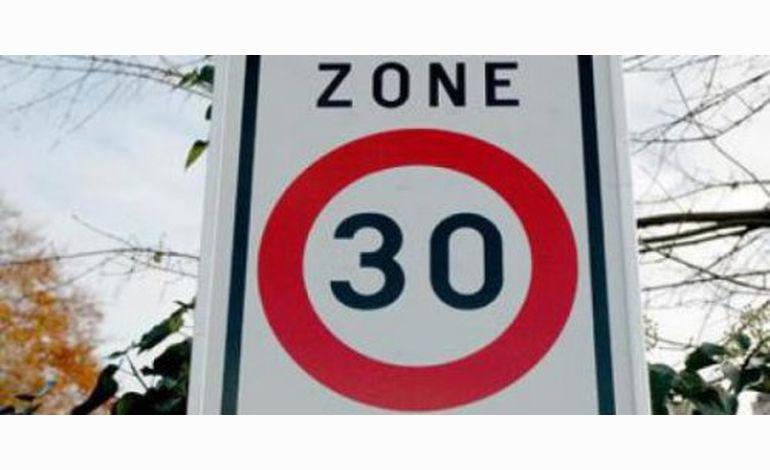 Les zones 30 pourraient se généraliser dans l'agglomération cherbourgeoise