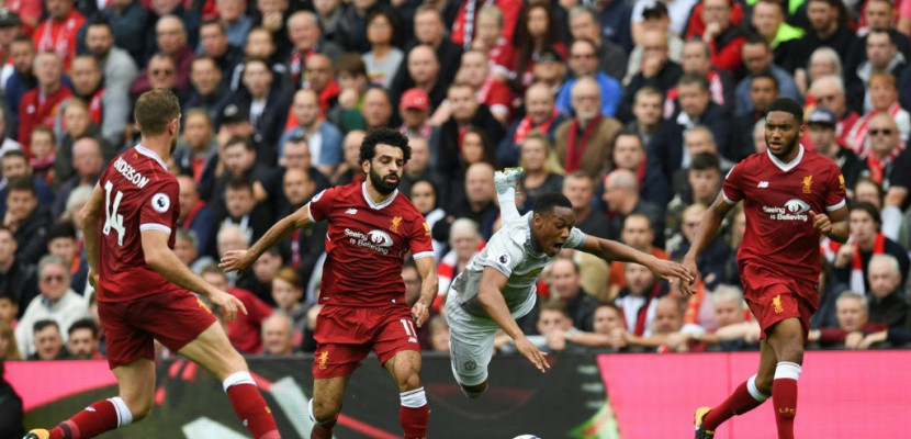 Angleterre: Liverpool domine mais reste muet contre Manchester United