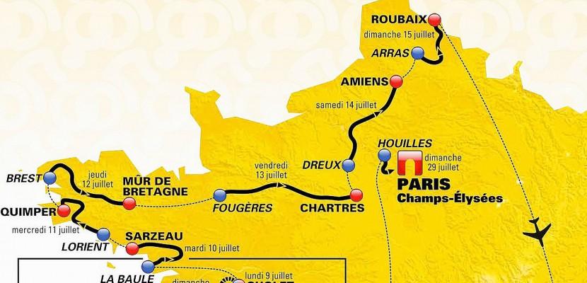 Cyclisme : L'Orne et l'Euredevraient voirle Tour de France 2018