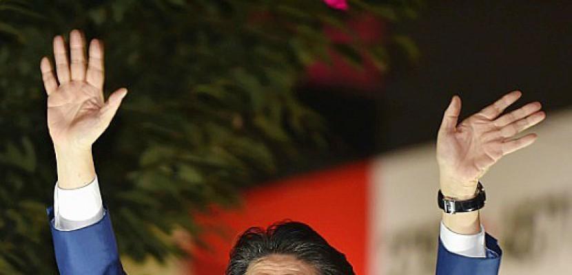 Japon: dernier jour de campagne, Abe en tête