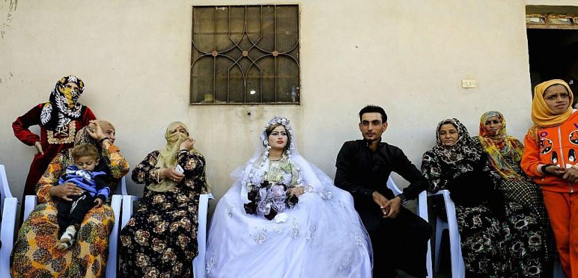 rouge l vres danse et mixit premier mariage raqa. Black Bedroom Furniture Sets. Home Design Ideas