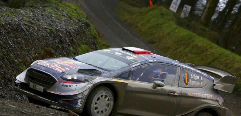 Rallye de Grande-Bretagne: Ogier champion du monde pour la 5e fois consécutive