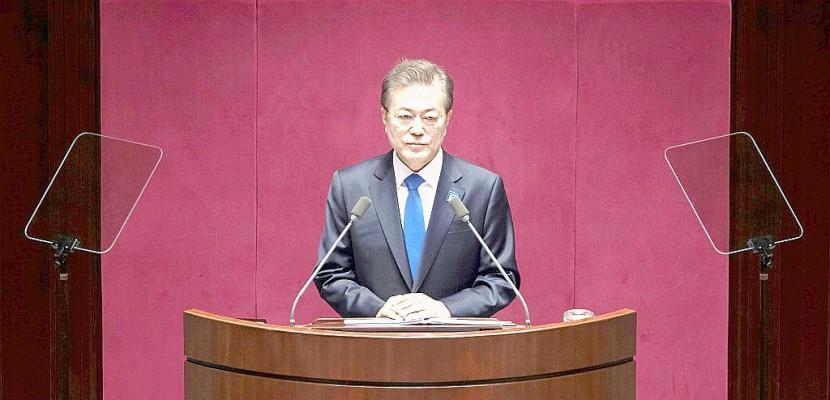 Séoul ne développera pas l'arme nucléaire, annonce le président
