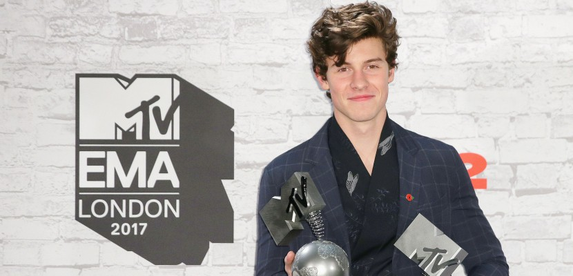 Le Canadien Shawn Mendes grand gagnant des MTV Europe Music Awards