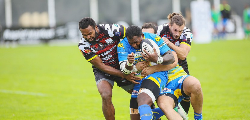 Rugby : le Rouen Normandie Rugby affronte l'US Bressane