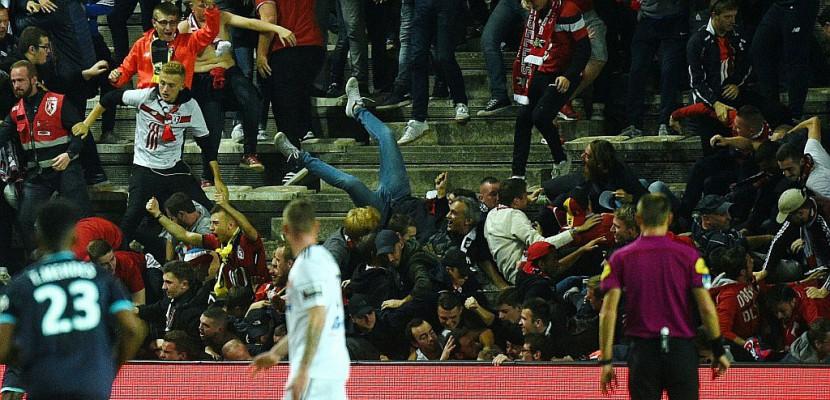 Ligue 1: les supporters lillois de retour à Amiens, plus déterminés que jamais