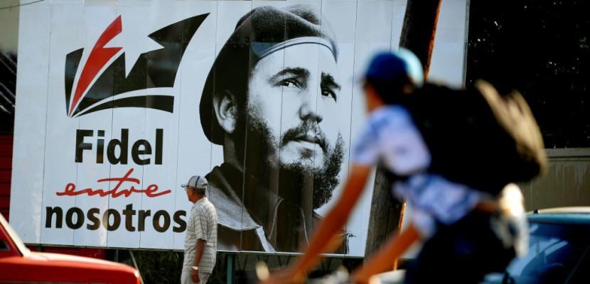 Cuba rend hommage à Fidel Castro, un an après sa mort