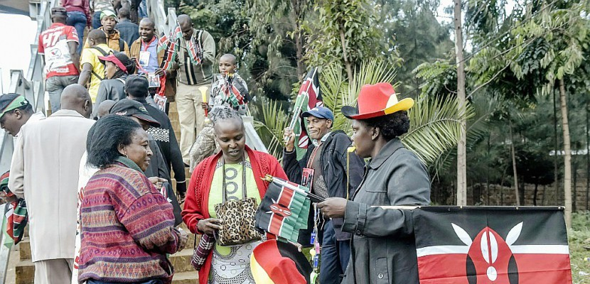 Kenya: Uhuru Kenyatta prête serment pour un second mandat