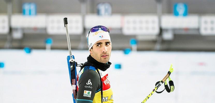 Biathlon: Martin Fourcade, l'or avant tout