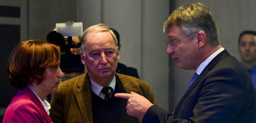 Allemagne: radicaux et modérés s'affrontent pour diriger l'extrême droite