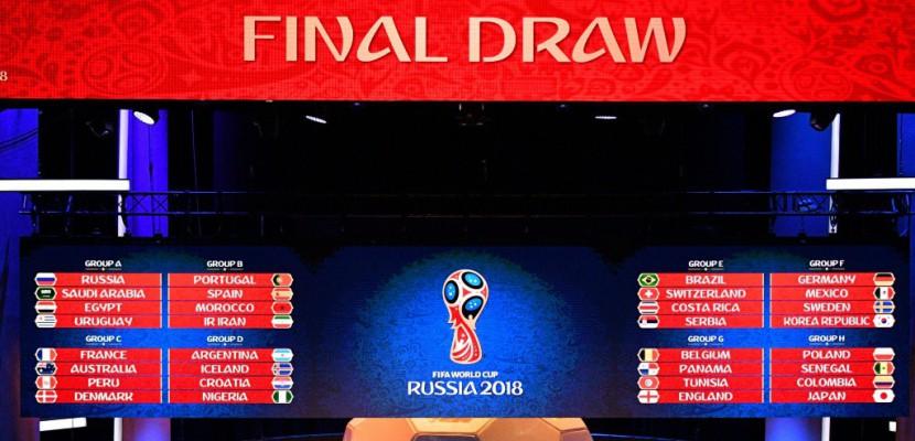 Calendrier Du Mondial.Mondial 2018 Le Calendrier Complet