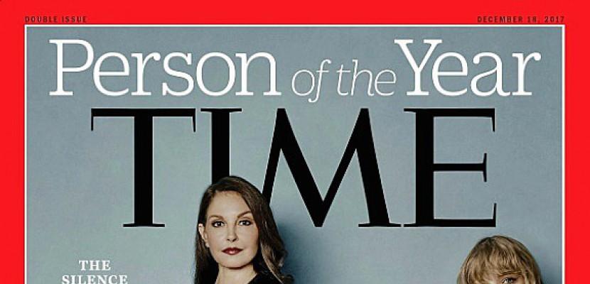 """Harcèlement: les """"briseurs de silence"""" désignés """"Personnalité de l'année"""" par Time"""