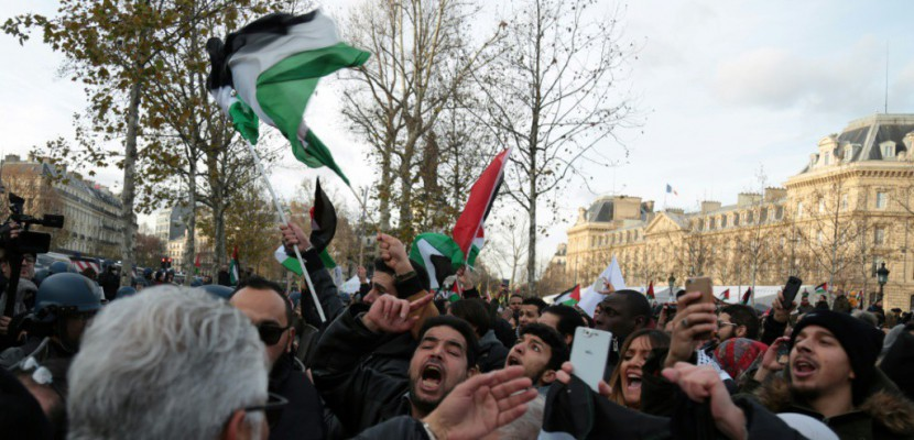 Manifestations en France contre la venue de Netanyahu dimanche à Paris