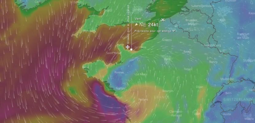 La Normandie touchée par la tempête Ana ce lundi : pluie, vent et neige