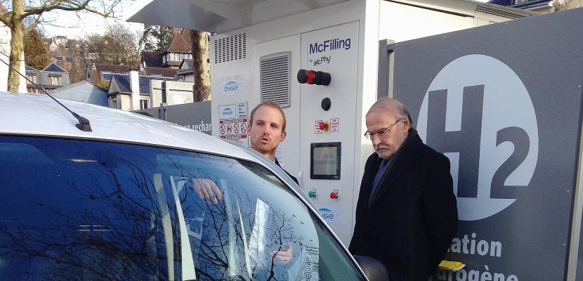 Rouen accueille la première station d'hydrogène pour véhicules en Normandie