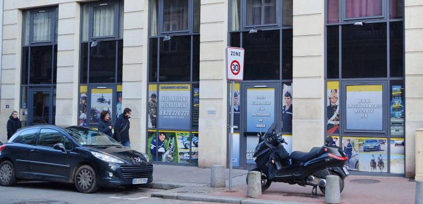 Rouen : le centre de recrutement de la gendarmerie déménage